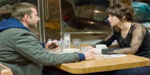 """Bradley Cooper and Jennifer Lawrence in the diner scene from """"Silver Linings Playbook."""""""